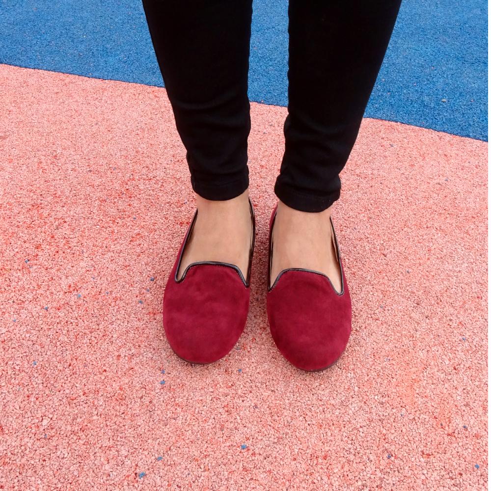 baletas crife vinotinto loafers 2
