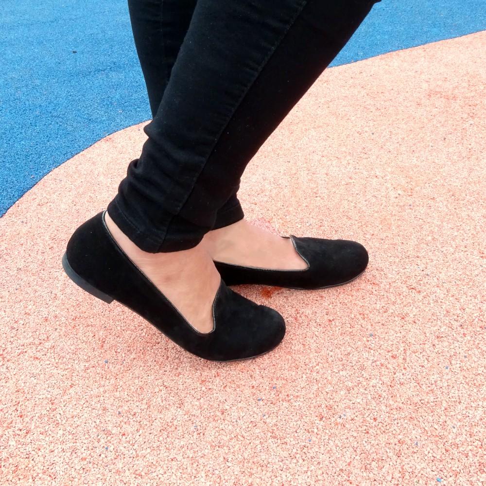 baletas crife negras loafers2